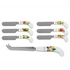 -CHEESE KNIFE & 6 SPREADER SET