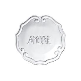 "-'AMORE' PLATE, 5"" WIDE"