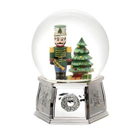 "-6.5"" MUSICAL NUTCRACKER SNOWGLOBE. PLAYS 'THE NUTCRACKER SUITE'. MSRP $100.00"