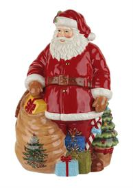 "-12"" SANTA COOKIE JAR. MSRP $200.00"