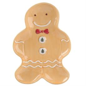 "-10"" GINGERBREAD MAN TRAY. MSRP $50.00"