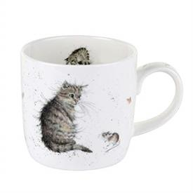 -'CAT AND A MOUSE' MUG. MSRP $18.56