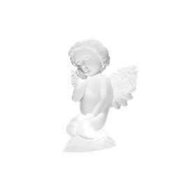 "-,ANGEL/CHERUB. 3.7"" TALL, 3"" WIDE, 2.2"" LONG"