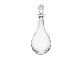 -GOLD DECANTER
