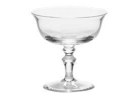 -CHAMPAGNE GOBLET, SET OF 2