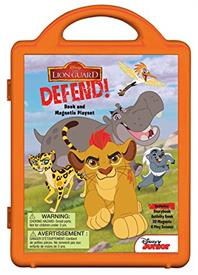 _THE LION GUARD, LION GUARD DEFEND!: BOOK AND MAGNETIC PLAYSET
