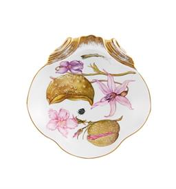 "-4.3"" WOLF'S PLANT ORIENTAL SHELL DISH"