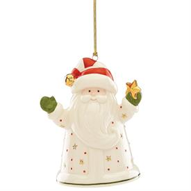 "_,SANTA RECORDABLE ORNAMENT. (5.25"" TALL. RECORDS ONE MESSAGE. BATTERIES NOT INCLUDED. MSRP $80.00)"