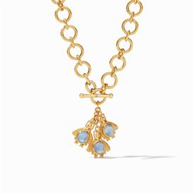 "-,BEE STATION NECKLACE. ELEGANT 38"" 24K GOLD PLATED CHAIN WITH DELIGHTFUL BEE STATIONS. CAN BE WORN LONG OR DOUBLED UP."