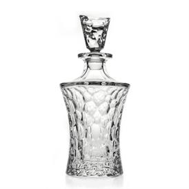 "-,BUBBLES CRYSTAL DECANTER. 11"" TALL (WITH STOPPER), 5"" WIDE. 23.67 OZ CAPACITY"