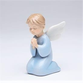 "-BOY ANGEL PRAYING FIGURINE. 2"" WIDE, 3.4"" TALL"