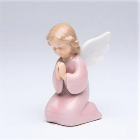 "-GIRL ANGEL PRAYING FIGURINE. 2"" WIDE, 3.4"" TALL"