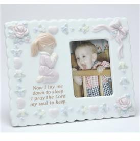 "-BABY GIRL FRAME. 6"" LONG, 5.5"" TALL"