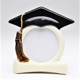 "-GRADUATION CAP FRAME. 4.5"" WIDE, 4.75"" TALL"