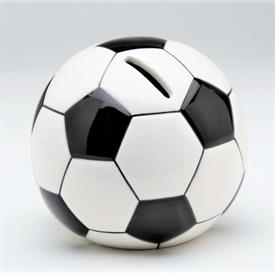 "-SOCCER BALL BANK. 4.75"" WIDE, 4.25"" TALL"