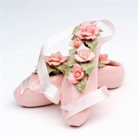 "-BALLET SLIPPERS FIGURINE. 2"" LONG"