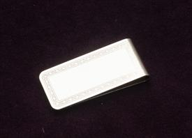 ",WATERFORD STERLING SILVER MONEY CLIP 2.25"" LONG .95 TROY OUNCES"