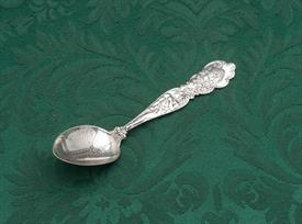 ",ELECTRIC TOWER - BUFFALO, NEW YORK  STERLING SOUVENIR SPOON 5.4"" LONG"