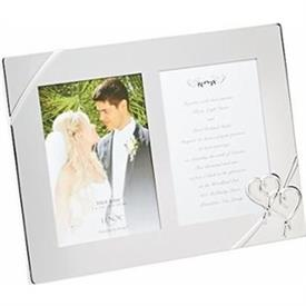 "-DOUBLE 5X7"" INVITATION FRAME. MSRP $67.00"