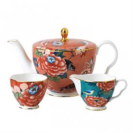 -3- PIECE TEA SET
