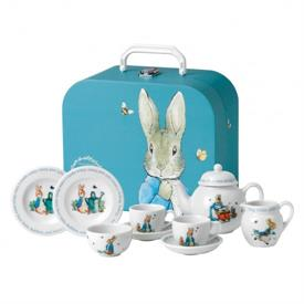 _CHILDREN'S TEA SET WITH CARRYING CASE