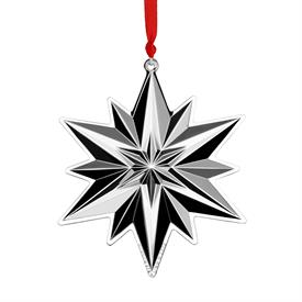 ",50TH ED Gorham Snowflake 50th Anniversary Edition Sterling Silver Christmas Ornament UPC#730936071903 MSRP $240  3.25""W x 4"" H made in USA"