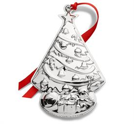 "-,2019 Gorham Tree Sterling Silver Ornament 3rd Edition 4.25""W by 2.75""H made in USA MSRP $225.00 UPC#730936071941"