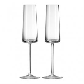 -PAIR OF CHAMPAGNE FLUTES