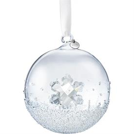 "-,2019 CHRISTMAS BALL ORNAMENT. 3.2"" WIDE"