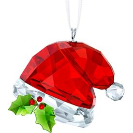 "_,SANTA'S HAT ORNAMENT. 1.4"" LONG, 1.5"" WIDE, .8"" DEEP"