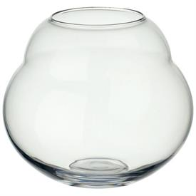 -CLEAR LARGE VASE/HURRICANE LAMP, 7.5""