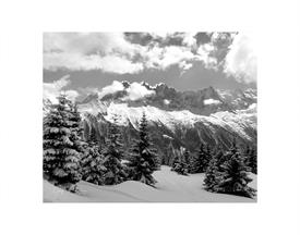 -CHAMONIX LANDSCAPE 8X10 ON 11X14 BLACK MAT