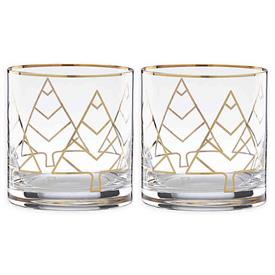 -PAIR OF DOUBLE OLD FASHIONED GLASSES