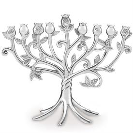 "-10.25"" METAL MENORAH. MSRP $140.00"