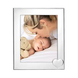 "-8X10"" SILVERPLATE FRAME"