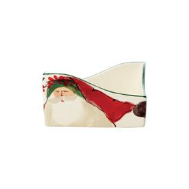"-RED BIRD & WREATH GLASS ORNAMENT. 4"" WIDE"