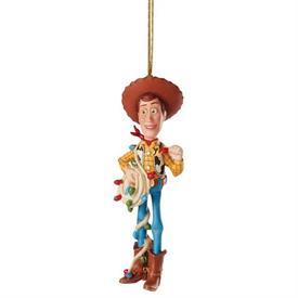 """,WOODY CHRISTMAS COWBOY ORNAMENT FROM DISNEY PIXAR'S 'TOY STORY'. 5.25"""" TALL. MSRP $60.00"""