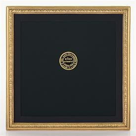 "-2075G BEADED FLORAL GOLD FRAME, 8X8"""