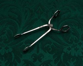 "SUGAR SCISSORS/TONGS BY COHR OF DENMARK STERLING SILVER 3.75"" LONG"