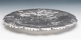 """,WALLACE GRAPE LEAF & VINE STERLING SILVER COOKIE TRAY 14.25 TROY OUNCES 11"""" DIAMETER"""