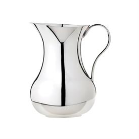 -WATER PITCHER. SILVER PLATED. 1 LITER CAPACITY.