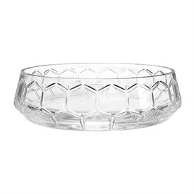 """-CRYSTAL CENTERPIECE BOWL. 12.4"""" WIDE."""