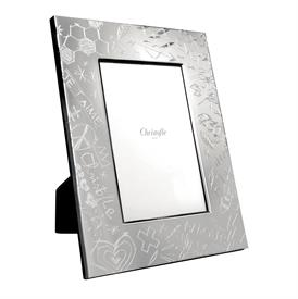 """-4X6"""" FRAME. SILVER PLATED."""
