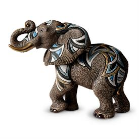 "-,AFRICAN ELEPHANT. LIMITED EDITION 10 OF 400. 13.75"" LONG, 11.75"" TALL, 6.6"" WIDE."