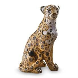 "-,CHEETAH. LIMITED EDITION NUMBER 471 OF 500. 13.75"" TALL, 9.5"" LONG, 8.25"" WIDE"