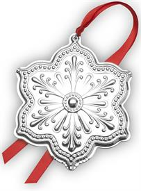 "_,Snowflake Silver Plated Christmas Ornament 1st Edition Year 2020 3""Wide by 3.5"" Tall made by Wallace in USA  MSRP $75"