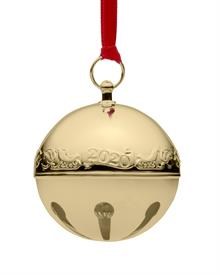 "-,Sleigh Bell Gold Plated 31st Edition made by Wallace in USA 2.75"" Wide by 2.75"" Tall MSRP $112.50"