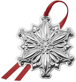 "-,Old Master Snowflake 2020 - 31st Edition Sterling Silver Christmas Ornament made by Towle in USA 3.25"" Wide x 3.75"" Tall MSRP $225.00"