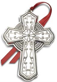 """-,Sterlng Cross 28th Edition, made by Towle in USA 2020 28th Edition 3.25"""" Wide by 4.5"""" Tall MSRP $240.00"""