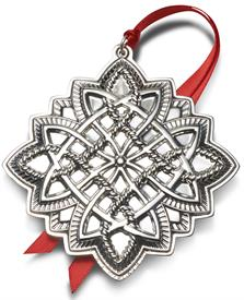 "-,Celtic Ornament Sterling Silver Year 2020 21st Edition made by Towle in USA 3.25"" Wide by 3.5"" Tall MSRP $240.00"